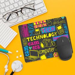 - Teknoloji Tasarımlı Mousepad