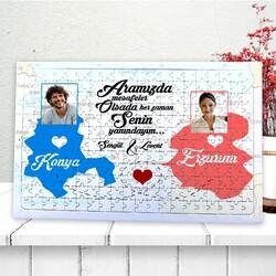 - Uzaktaki Sevgiliye Özel 240 Parça Puzzle