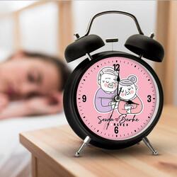 - Yaşlı Çiftler İsme Özel Çalar Saat