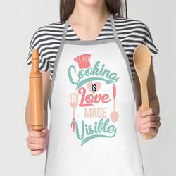- Yemek Yapmayı Sevenlere Mutfak Önlüğü
