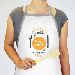 - Yemeklerine Sevgi Katanlara Özel Mutfak Önlüğü