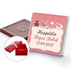 - Yeni Doğan Kız Bebek Çikolatası
