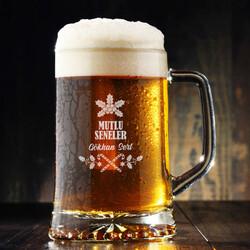 - Yeni Yıla Özel İsimli Bira Bardağı