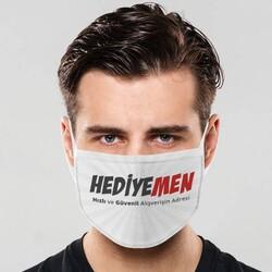- Yıkanabilir Logolu Ağız Maskesi