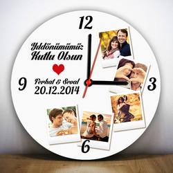 - Yıldönümüne Özel Duvar Saati