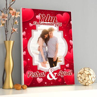 - Yılın En Romantik Çifti Kanvas Tablo