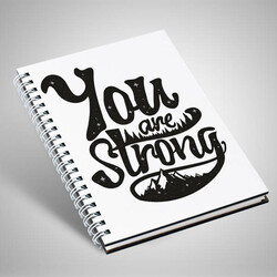 - You Are Strong Motto Defter