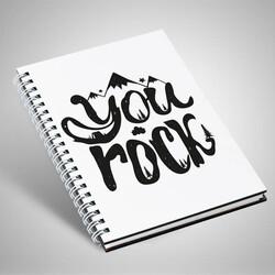 - You Rock Motto Defter